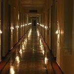 walk through hallways