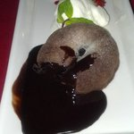 Chocolate Melted Cake at Art Cafe - Yummo