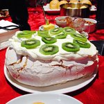 BEST PAVLOVA EVER :) by our lovely hosts