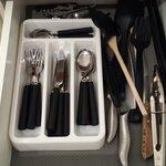 Plently of cutlery
