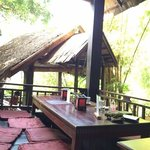 A tree house with great food