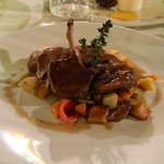 The Roast Lamb was delicious!!