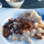 Yummy milk rice- special dish that's usually cooked for special occasions