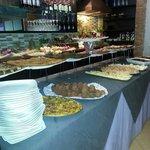 Ricco buffet di cucina tipica siciliana...