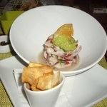 Ceviche...it could have been my whole meal. Fresh flavours..