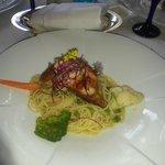 Chicken Roulade & Pasta