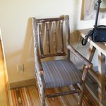 nice wooden chair in room