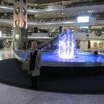 la fontaine cœur du complexe