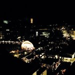view on the Xmas market from room 549