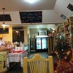 Bar, restaurant and shop