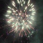 geweldig vuurwerk 1 januari
