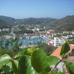 A view on the village and harbour of Huatulco.