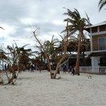 Hotel Strand vor Rezeption