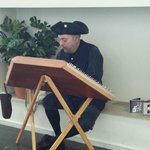 period musician  at the visitor center