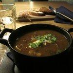 Delicious lamb soup in Kohvik Maru
