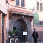 The main entrance just off Riad Zitoun Kedim