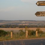 The last leg, or the first, of the Ridgeway national trail.