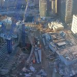 View from room 3111 of the World Trade Centre Site
