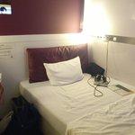 房間內部,其實就跟飯店提供的照片幾乎一樣