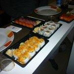 Il nostro sushi da asporto....