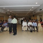 Our meet in another hall on 28th evening