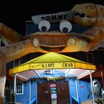 Entrance to Giant Crab