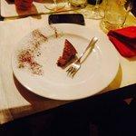 """La """"porzione"""" di castagnaccio servita...7 €!"""