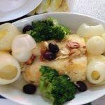 Conde da ilha cod fish. Tasty !!