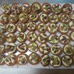 Canestrini ai pistacchi