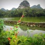Long Tan Park, spring