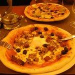 Pizzas orientale et aux légumes