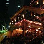 Pancho's at night