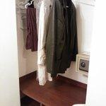 este es el espacio para colgar la ropa