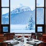 View from Walliser Stube Restaurant
