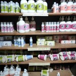 products on shelves