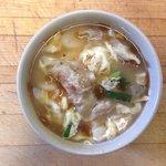 Dduk Mandoo Guk (New Years Soup with pork dumplings) -- Happy 2014!