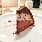 Raw Zucotto cake