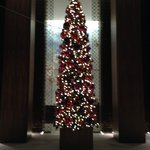 Lobby-All set up for the holidays!