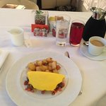 Breakfast Omelette from Room Service