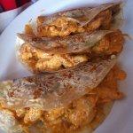 Tacos de crevettes fraîches