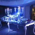 Mesa de Sobremesa - festa Reveillon 13/14