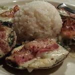 Oysters Rockefeller - Yum!
