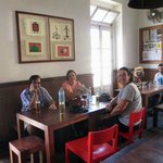 Inside Casa Cafe Mindelo