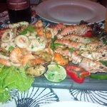 plat de fruits de mer