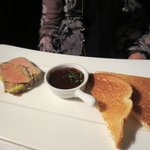 Terrine of Duck Foie Gras with fig chutney and toasted brioche
