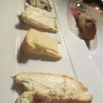 Cheese platter - Too much cheese for us. Cheese was wonderful but one of these EACH!!