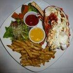 large 2 lb lobster