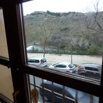 Sights from the room to Tajo river.