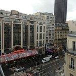 View of Blvd Montparnasse from  Room 62