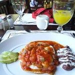 Huevos Rancheros, one of my many great dining experiences